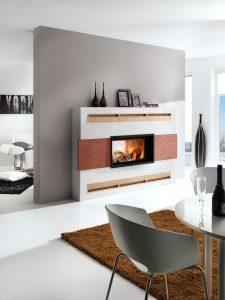 --- Bildunterschrift für Bild 2 --- Kaminöfen zählen heute zu den beliebtesten Einrichtungshighlights, sie sind Inbegriff von Lebensart und zeitgemäßem Wohndesign. Foto: djd/www.kachelofenwelt.de