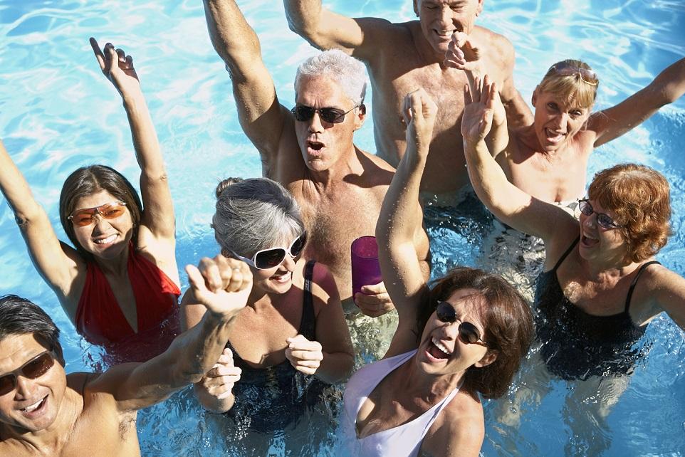 Tanz-Work-out im Wasser: Aqua Zumba ist der neue Sport im Alter