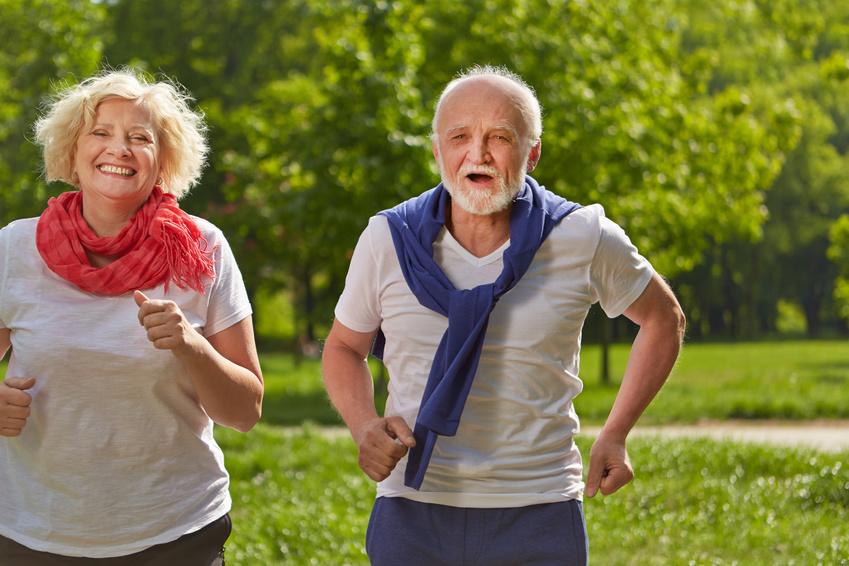Joggen im Alter – Aktiv über 50